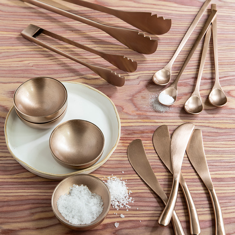 Rosé Thin Spoons, Set of 4