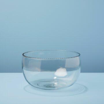 Ruffle Glass Bowl, Large