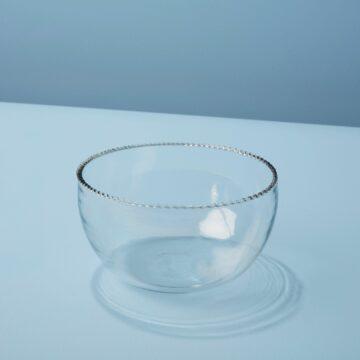 Ruffle Glass Bowl, Small