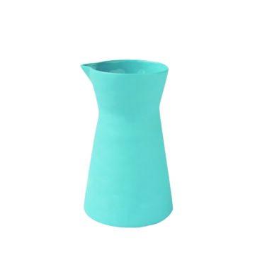 Stoneware Carafe Blue